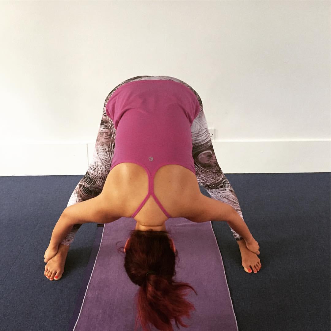 Bodhi Me Standing Separate Leg Stretching Pose
