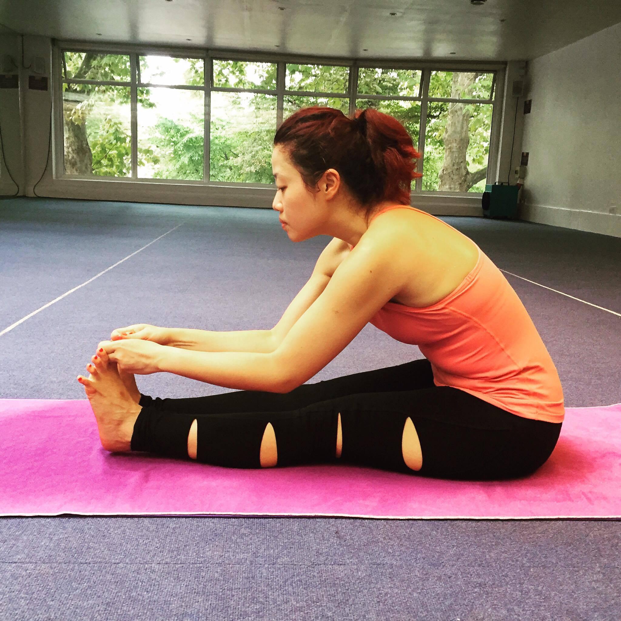 Bodhi Me Stretching Pose